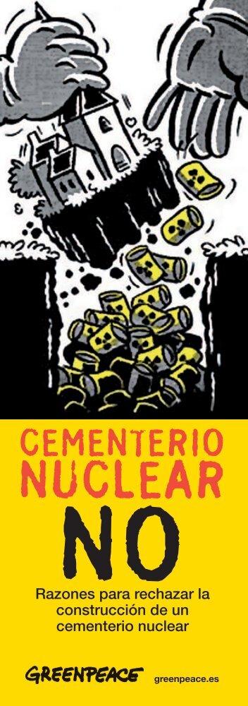 Cementerio nuclear no - Greenpeace