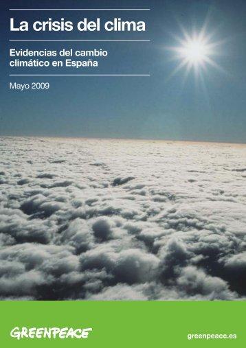 ccsinforme cambio clima?tico:Layout 1 - Greenpeace