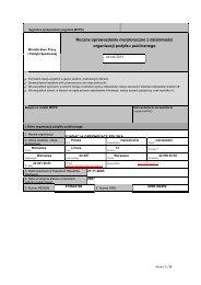 Sprawozdanie merytoryczne OPP 2011 - Greenpeace