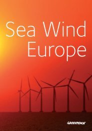 Sea Wind Europe - Greenpeace UK