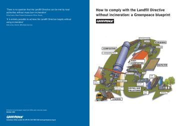 How to comply with the Landfill Directive without ... - Greenpeace UK