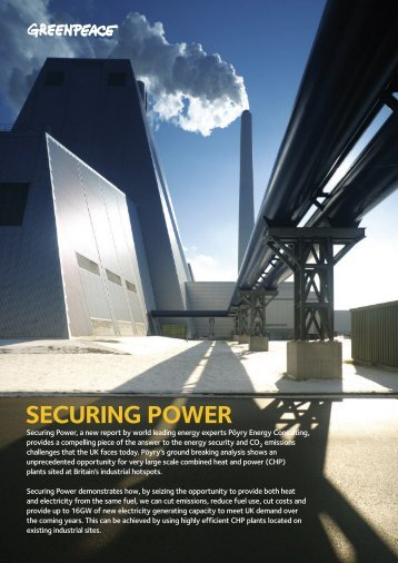 Securing Power - Summary - Greenpeace UK