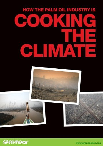 Cooking the Climate - Greenpeace