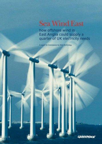 Sea Wind East - Greenpeace UK
