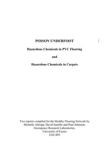 Poison underfoot