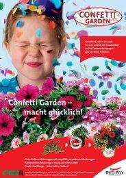 Confetti Garden – macht glücklich! - bei GREEN Pflanzenhandel ...