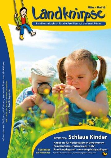 Titelthema: Schlaue Kinder - Landknirpse