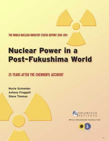 Nuclear Power in a Post-Fukushima World - The Greens | European ...