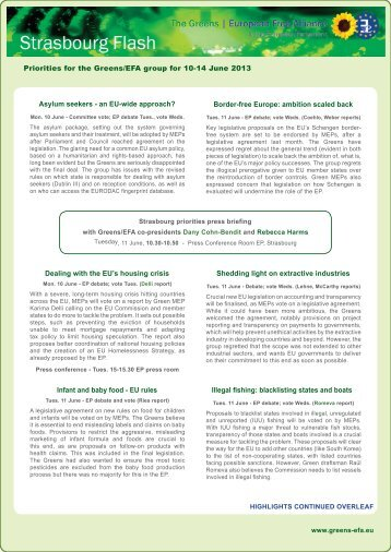 printable, layouted version - The Greens | European Free Alliance