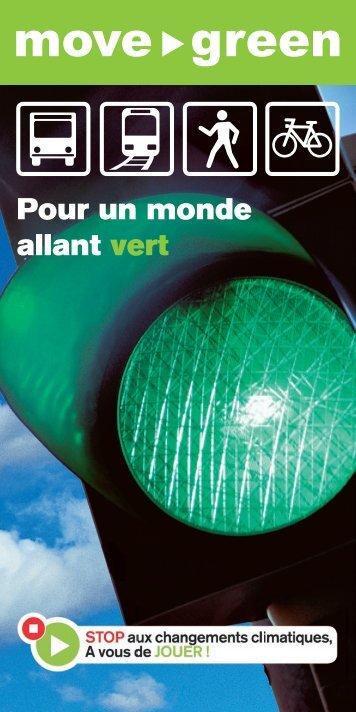 Pour un monde allant vert