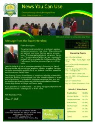 April 2013 Newsletter - Greenup County School District