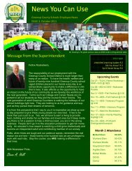 News You Can Use - Greenup County School District