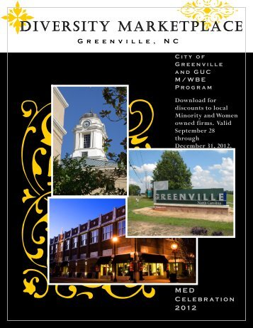 DiversityMarketplace2012 (one page) - City of Greenville