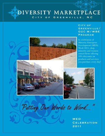 """""""Putting Our Words to Work…"""" - City of Greenville"""