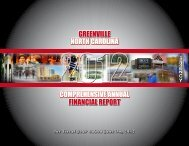 city of greenville 2012comprehensive annual financial report