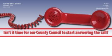 Isn't it time for our County Council to start answering the call?