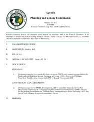 Agenda Planning and Zoning Commission - City of Greenville