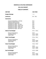Budget FY 2012/13 - City of Greenville