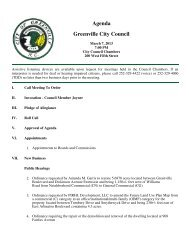 Full Agenda - City of Greenville