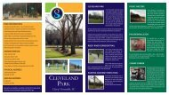 Download Cleveland Park Brochure - City of Greenville