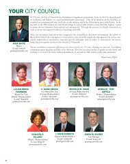 YOUR CITY COUNCIL - City of Greenville