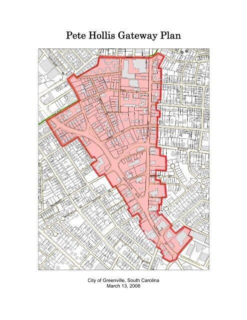 Pete Hollis Gateway Plan - City of Greenville