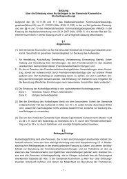 Kurbeitragssatzung gültig ab 01.01.2013 zum Downloaden - Greetsiel