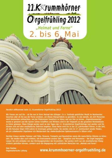 KOF 2012 Flyer überarbeitet am 9.3. - Krummhörn-Greetsiel