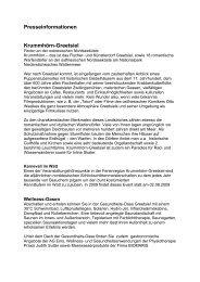 Presseinformationen Krummhörn-Greetsiel