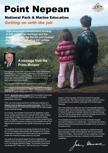 Pt Nepean Brochure 2006 - Federal Member for Flinders