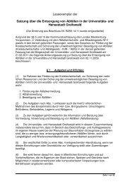Leseexemplar der Satzung über die Entsorgung von Abfällen in der ...