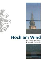 Hoch am Wind - Hansestadt Greifswald