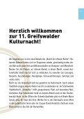 Kulturnacht - Hansestadt Greifswald - Seite 3