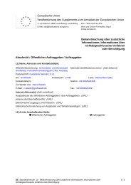 Zusätzliche Information oder Berichtigung - Hansestadt Greifswald