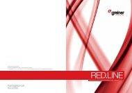 RED.LINE-Folder - Greiner Extrusions Technik