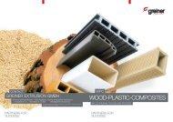 wOOD-PLASTIC-COMPOSITES. - Greiner Extrusions Technik