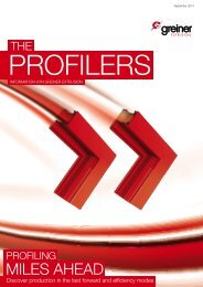 the profilers 2_2013 - Greiner Extrusion