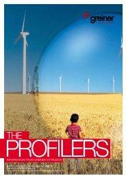 the profilers 01-2011 - Greiner Extrusions Technik