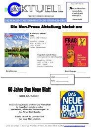 """Sonderheft """"Album der Erinnerungen"""" als Das Neue Blatt Bundle ..."""