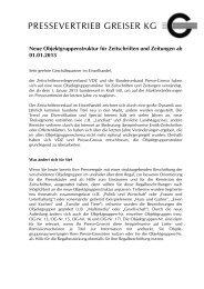 Neue Objektgruppenstruktur für Zeitschriften und Zeitungen ab ...