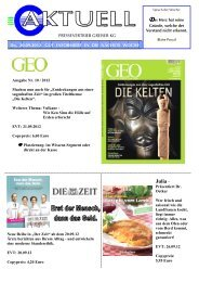 Julia – - Pressevertrieb Greiser KG