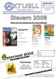 Ostertaschen - Pressevertrieb Greiser KG