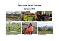 Rejseguide Kenya Explorer Januar 2013