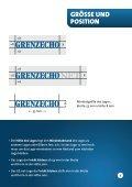 Grafischer Leitfaden - GRENZECHO.net - Seite 4