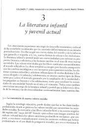 COLOMER, T. (1999), Introducción a la Literatura Infantil y ... - Gretel