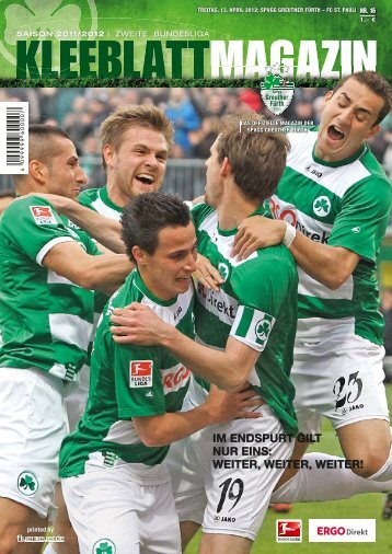 Nr. 16 FC St. Pauli 13.04.2012 - SpVgg Greuther Fürth