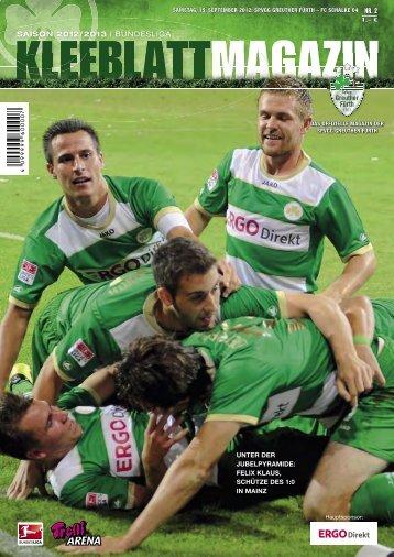 Nr. 2 FC Schalke 04 15.09.2012 - SpVgg Greuther Fürth