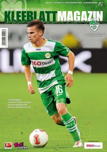 Werder Bremen (27.10.2012) - SpVgg Greuther Fürth