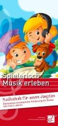 Musikschule für unsere Jüngsten