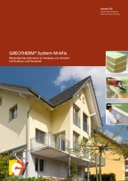 GREOTHERM® System M-HFix - Greutol AG